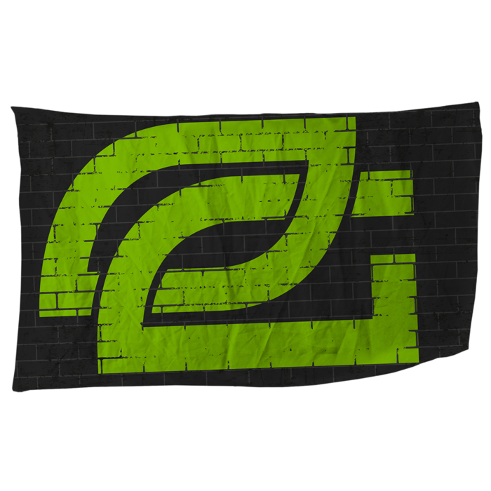 OpTic Greenwall Flag 2018