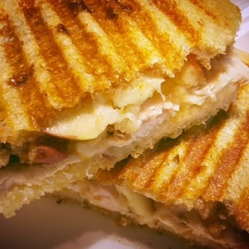 Apple & Chicken Panini Recipe