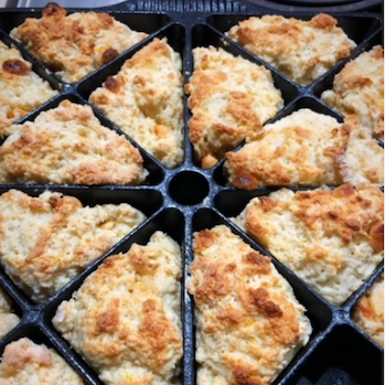Orange Blossom White Chocolate Chip Scone Recipe
