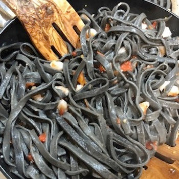 Squid Ink Pasta Recipe