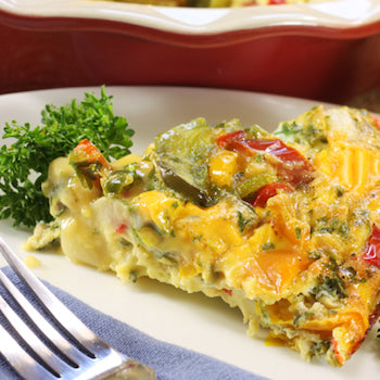 My Favorite Recipes - Veggie Fritatta