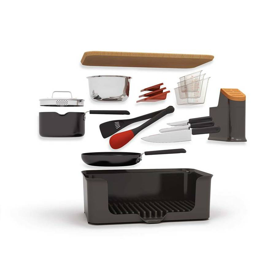Sharper Image Kitchen in a Box - Black