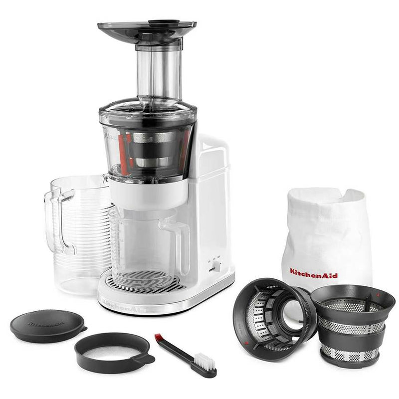 KitchenAid Maximum Extraction Juicer in White