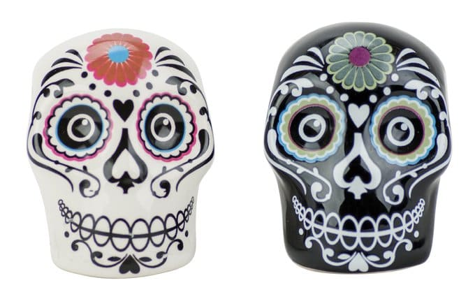 Boston Warehouse Day of the Dead Salt & Pepper Shakers