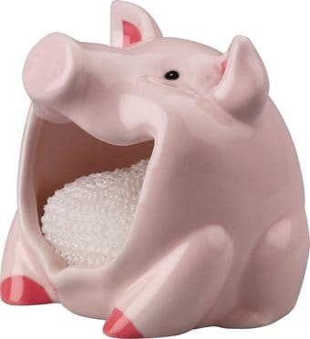 Boston Warehouse Pig Scrubby Holder
