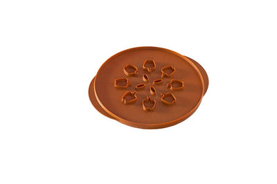Nordic Ware Pie Crust Cutter - Reversible Leaves & Apple Designs
