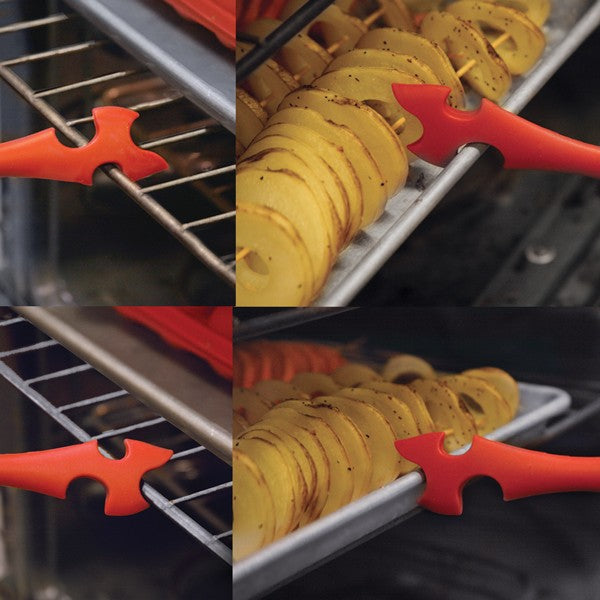 Norpro Red Silicone Oven Rack Push/Pull Tool