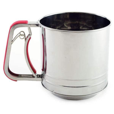 Norpro Stainless Steel Triple Screen 5 Cup Flour Sifter