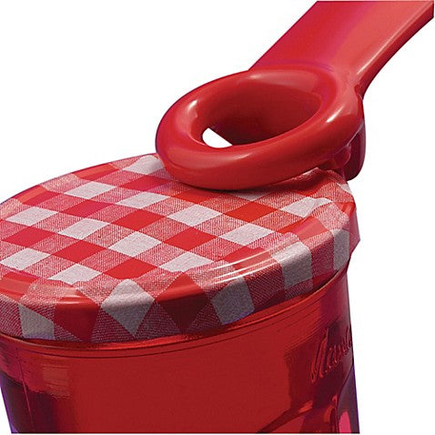 Brix JarKey Jar Opener in Red