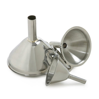 Norpro Stainless Steel Funnels - Set of 3