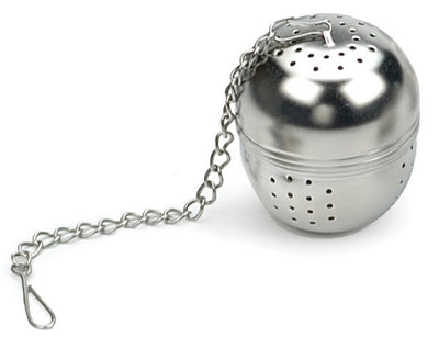 RSVP Endurance Regular Tea Ball Infuser, Stainless Steel