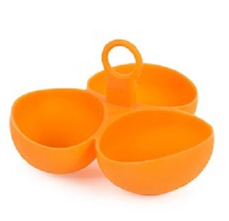 Core Kitchen 3 Part Aerie Silicone Egg Poacher