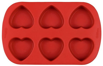 Wilton Silicone Mini Heart Mold