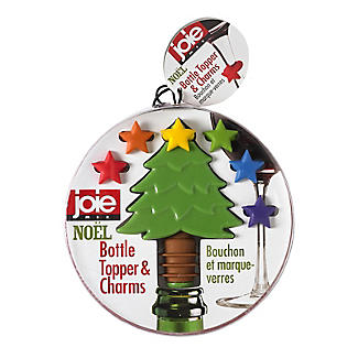 Joie Noel Bottle Topper and Charms