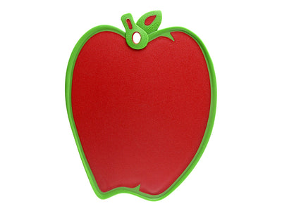 "Dexas Red Apple Cutting & Serving Board 13.25"" x 9.5"""
