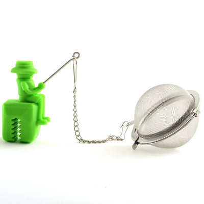 Norpro Stainless Steel & Silicone Fisherman Tea Infuser
