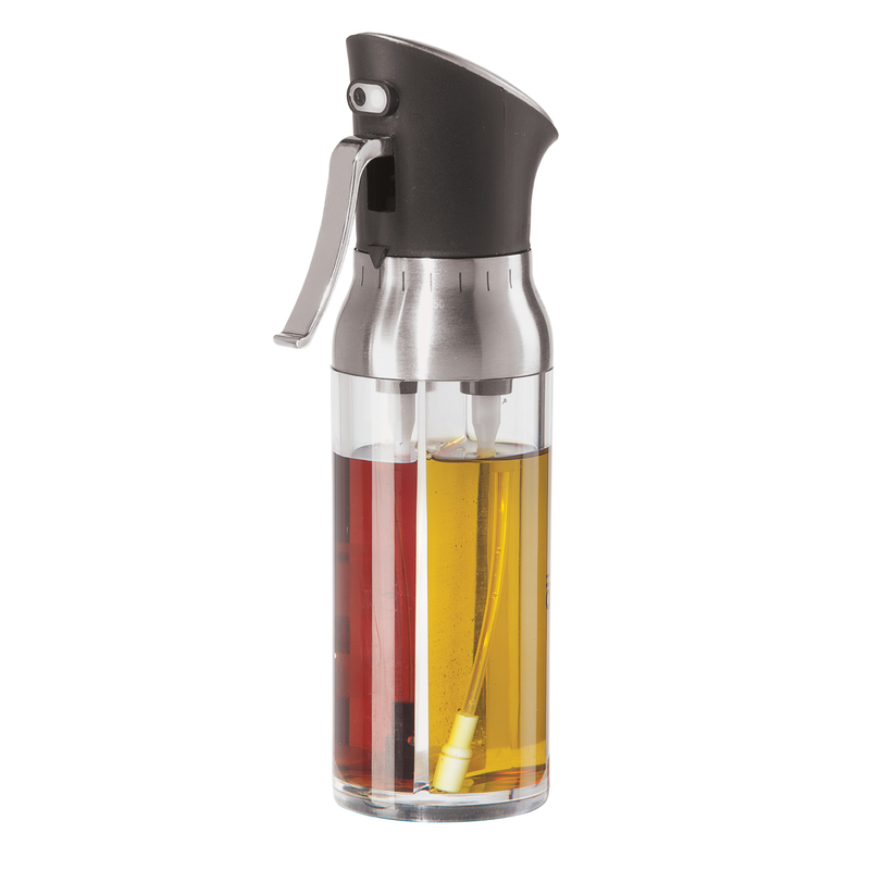 OGGI Mix & Mist Oil/Vinegar Pump Sprayer Bottle