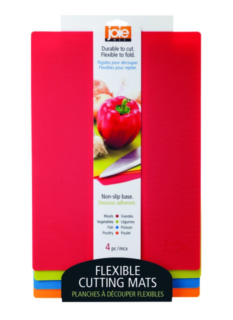Joie Flexible Cutting Mats - Set of 4