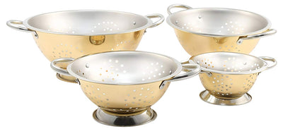 Cambridge Silversmiths Gold Colander