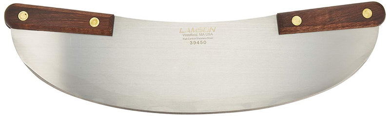 Lamson Walnut Pizza Rocker Knife