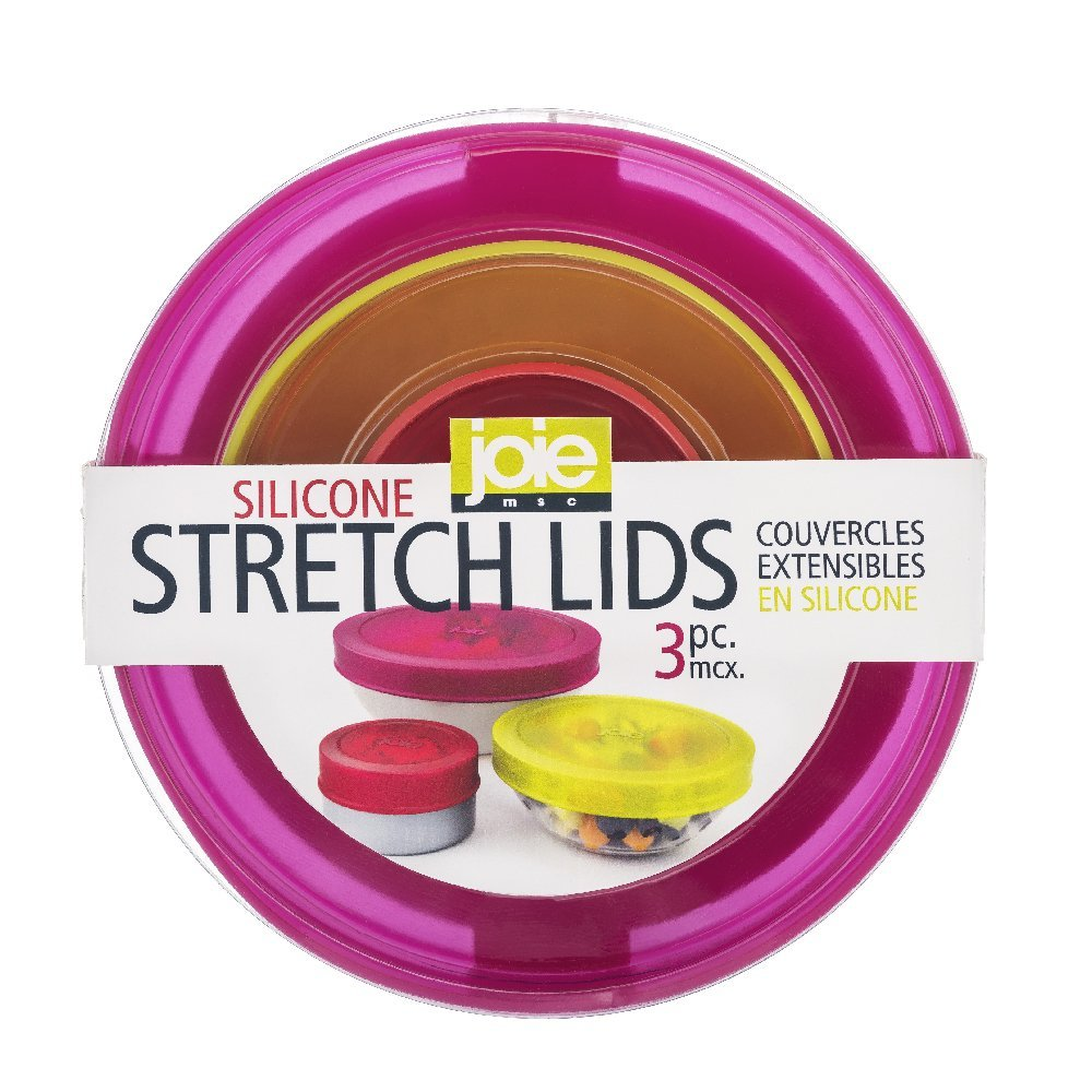 Joie Silicone Stretch Lids - Set of 3