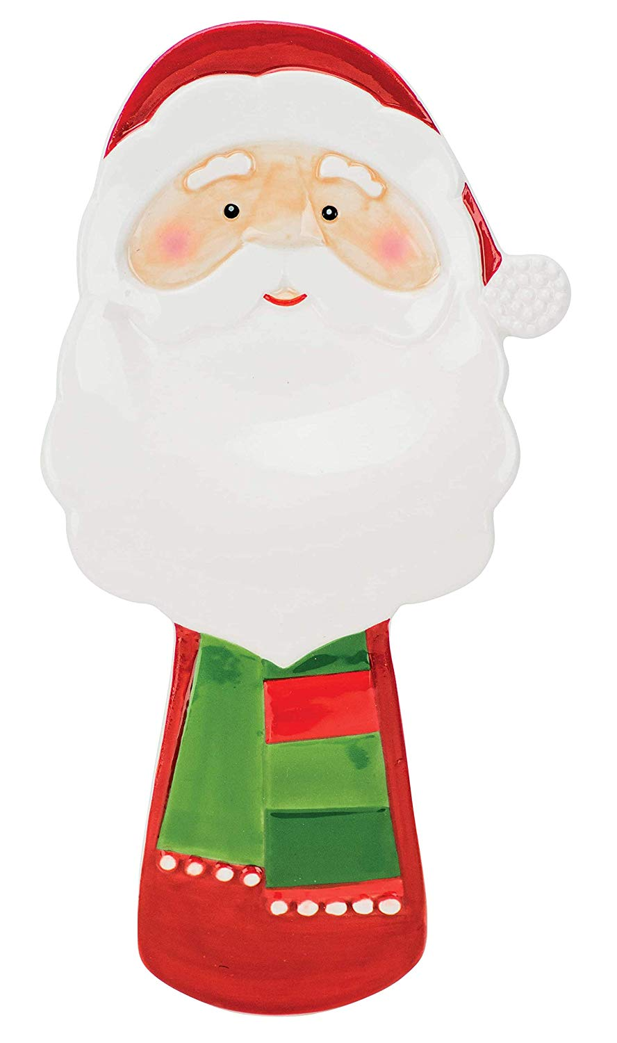 Boston Warehouse Santa Spoon Rest