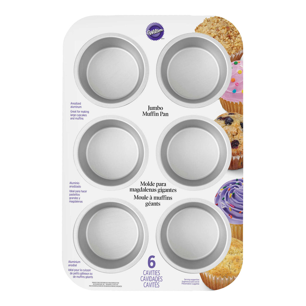 Wilton Performance Aluminum 6-Cavity Jumbo Muffin Pan