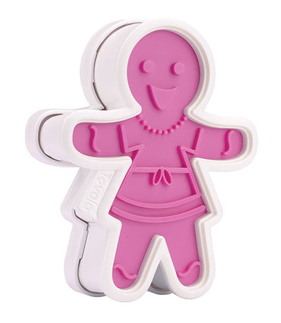 Tovolo Ginger Girls Cookie Cutters