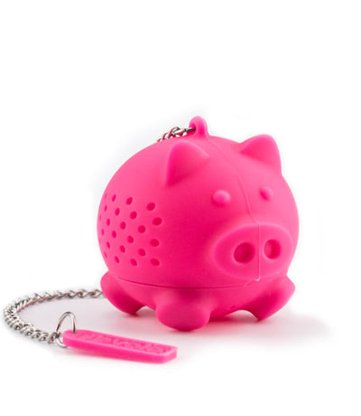 Tovolo Silicone Pink Pig Tea Infuser