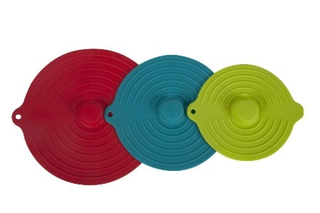 Core Kitchen 3pc Silicone Suction Lid