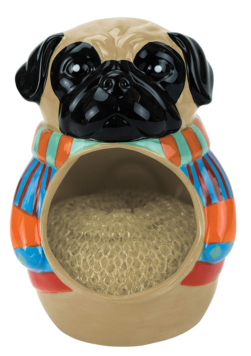 "Boston Warehouse ""Pugly Sweater"" Scrubby Holder"