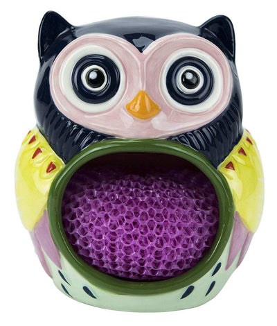 Boston Warehouse Artsy Owl Scrubby Holder