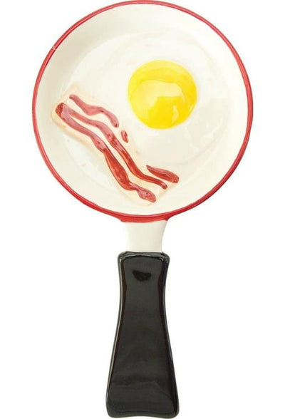 Boston Warehouse Bacon and Eggs Spoon Rest