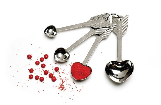 RSVP Endurance Heart Measuring Spoon Set