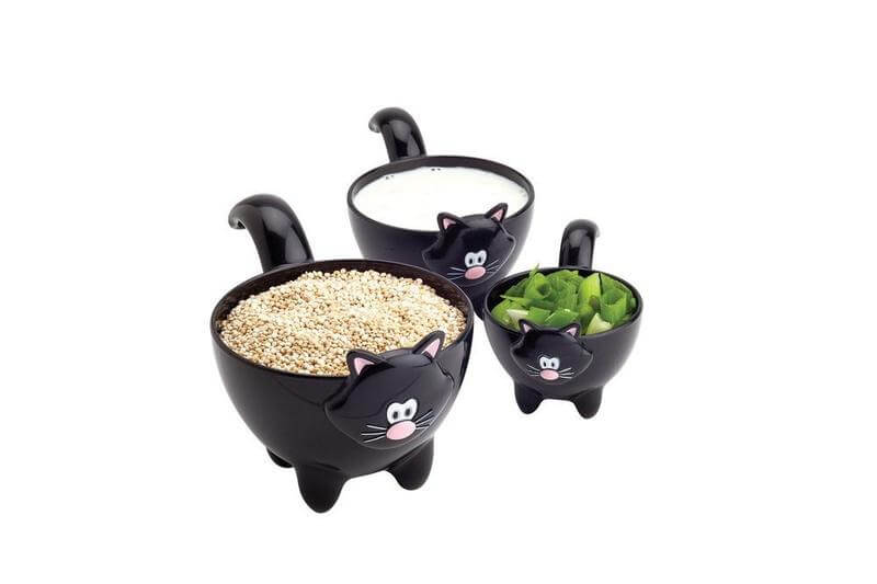 Joie Meow 3-Piece Cat Measuring Cups