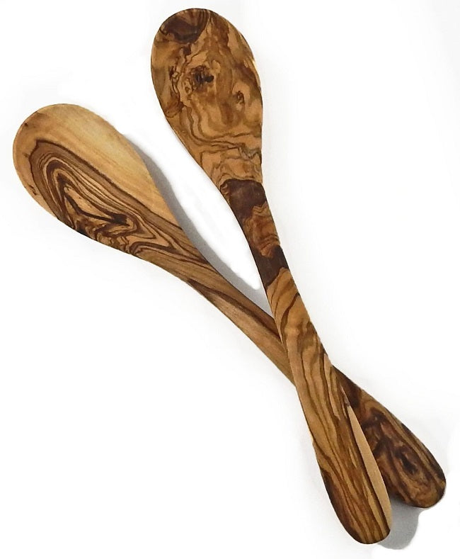 "Le Souk Olivique Olive Wood 12"" Spoon"