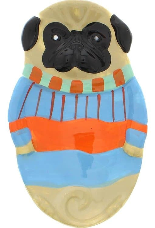 Boston Warehouse Spoon Rest - Pugly Sweater