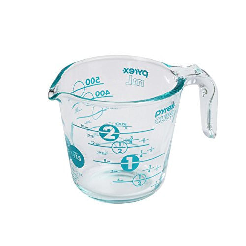 Pyrex 2 Cup Anniversary Measuring Cup - Turquoise