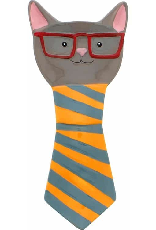 Boston WareHouse Smarty Cat Spoon Rest
