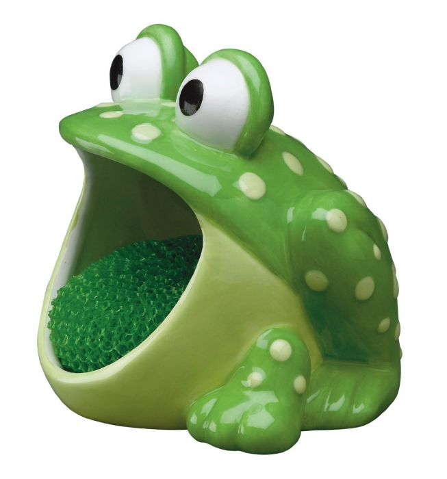 Boston Warehouse Frog Scrubby Holder