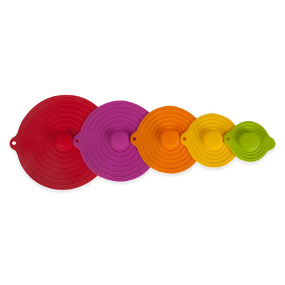 Core Kitchen 5pc Silicone Suction Lid