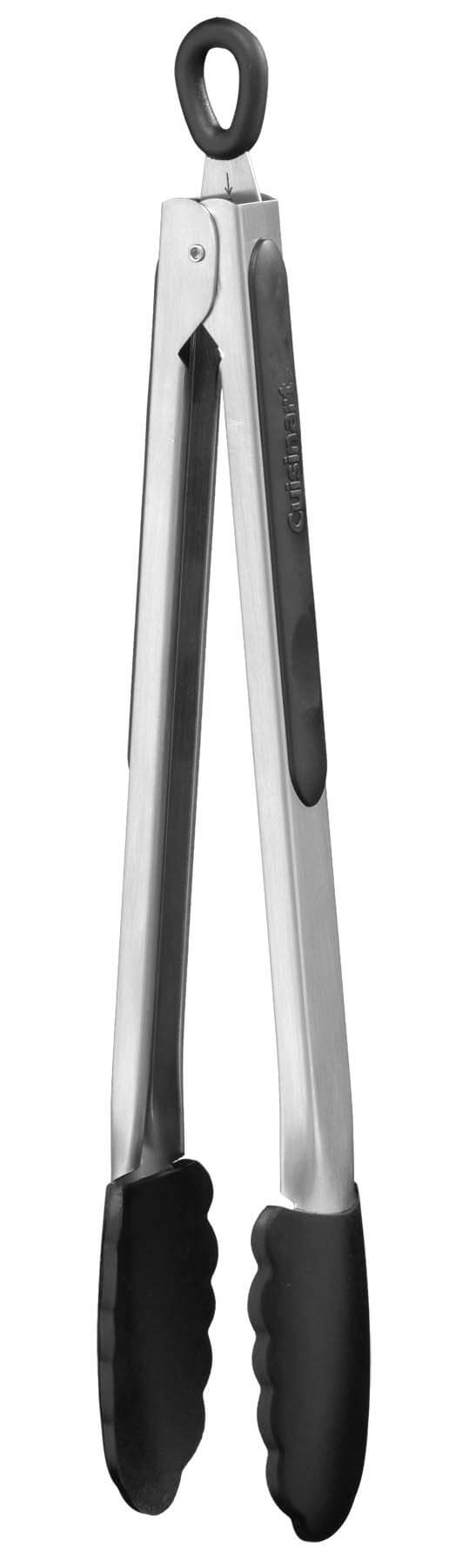 "Cuisinart 12"" Silicone Tipped Tongs"