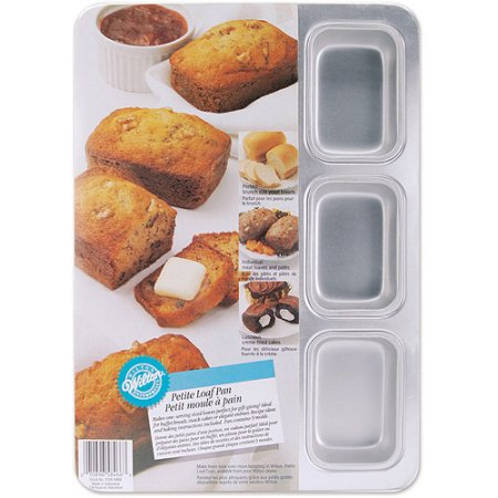 Wilton 9-Compartment Petite Loaf Pan