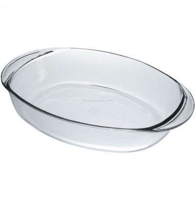 "Duralex Oval Roasting Pan 14"" x 10"""