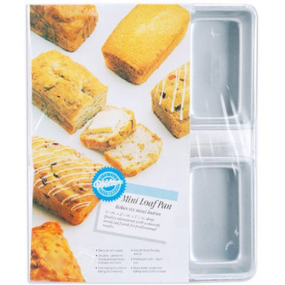 Wilton 6-Compartment Mini Loaf Pan