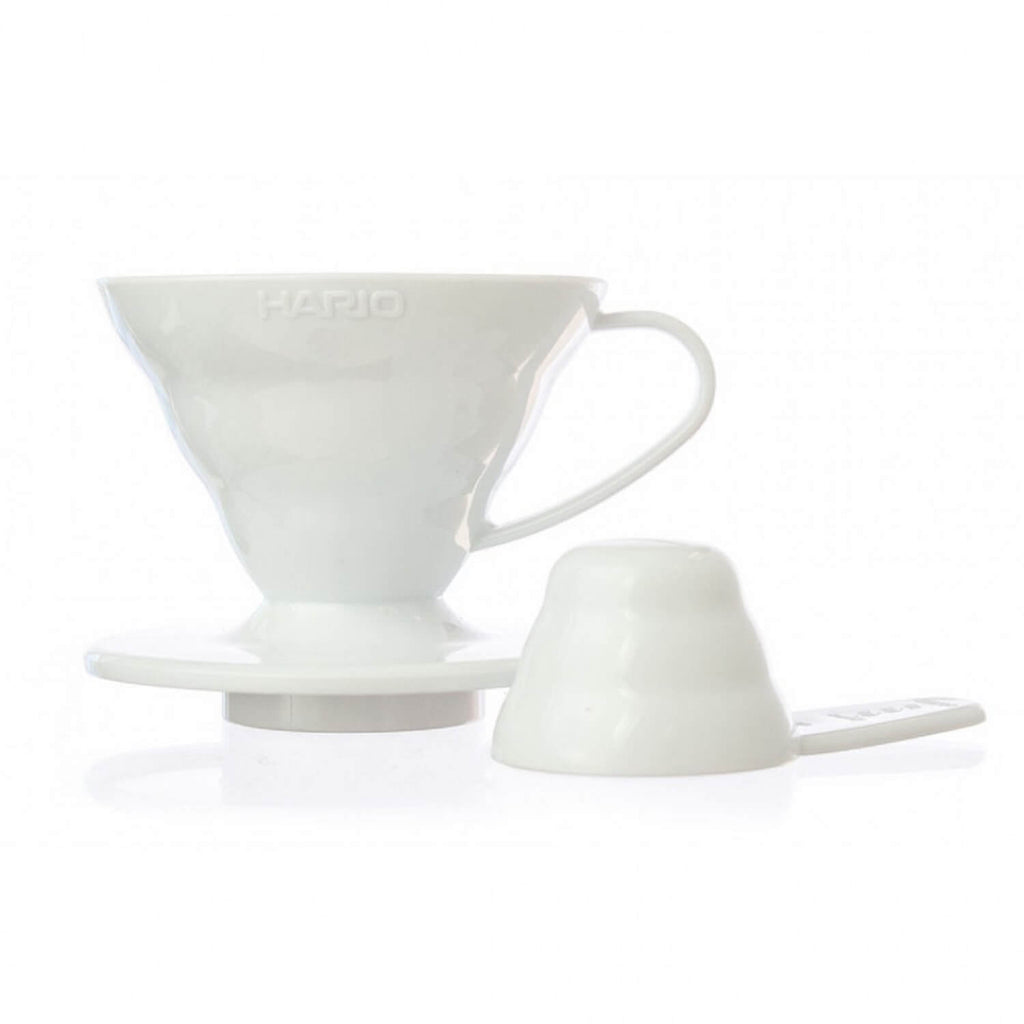 Hario V60 Ceramic Coffee Dripper - 01 White