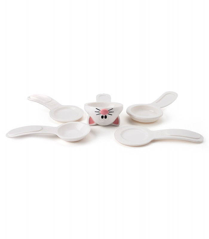 Joie Meow 5-Piece Measuring Spoons