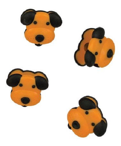 Animal House by Boston Warehouse Dog Magnet Mini Clip, Set of 4