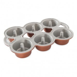Nordic Ware Angel Cakes Mini Angel Food Pan