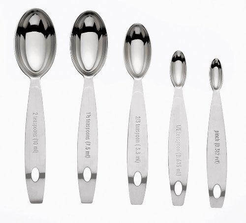 Cuisipro Stainless Steel Measuring Spoon Set - Odd Sizes
